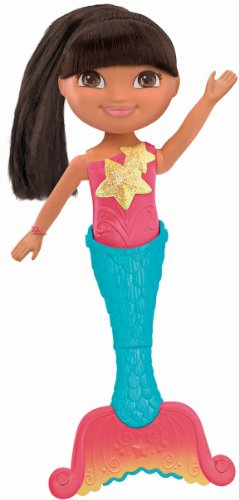 Fisher-Price Dora The Explorer Dive and Swim Mermaid Dora