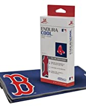 Mission Athletecare Boston Red Sox Enduracool Towel, Blue/White/Red