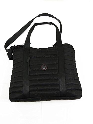 Napapijri Hortas borsone da viaggio borsa a mano tracolla N0CFLV 041 black
