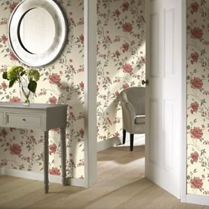 Gran Deco Fusion Wallpaper - Red from New A-Brend