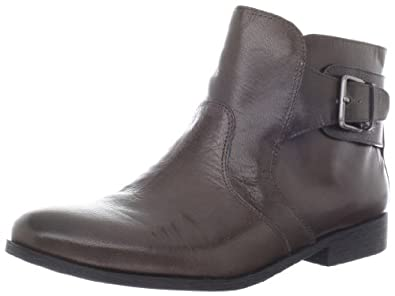 Nine West Women's Toughenup Bootie,Taupe Leather,5 M US