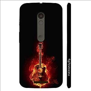 Enthopia Designer Hardshell Case Music Lights Everything on Fire Back Cover for Motorola Moto X3