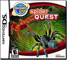Discovery Kids: Spider Quest - Nintendo DS - 1