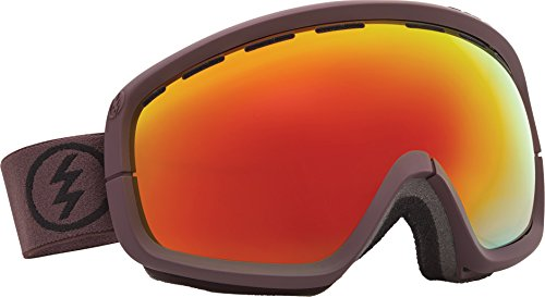 Electric Egb2S Snow Goggle, Mississippi Mud, Grey/Red Chrome