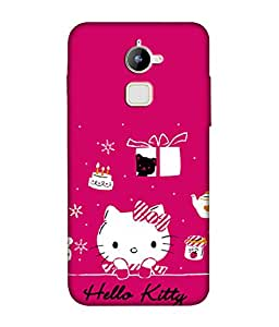 chnno Hello Kitty 3D Printed Back cover for Coolpad Note 3 Lite