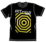 新世紀エヴァンゲリオン ATフィールドTシャツ ブラック サイズ:L