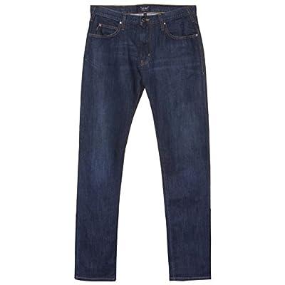 Armani Jeans J45 Slim dark rinse jean Denim