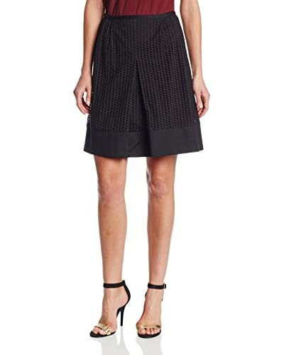 Calvin Klein Women's Eyelet A-Line Skirt