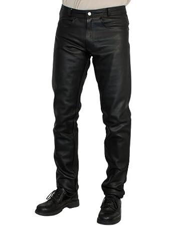 Roleff Racewear 252 Pantalon Cuir, Noir, 52