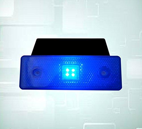1x LED 24V blau Seite vorne hinten Marker Leuchten LKW Truck Trailer DAF MAN Volvo