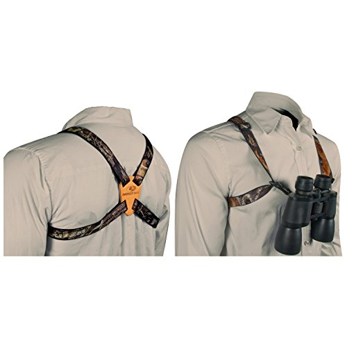 Best Price Mossy Oak Deluxe Binocular Strap (Break-Up, One Size)