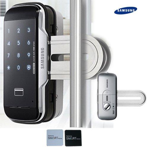 2Pcs Of Sticky Key Tags + Samsung Shs-G510 Digital Door Lock Keyless Touchpad Security Ezon For Window Door