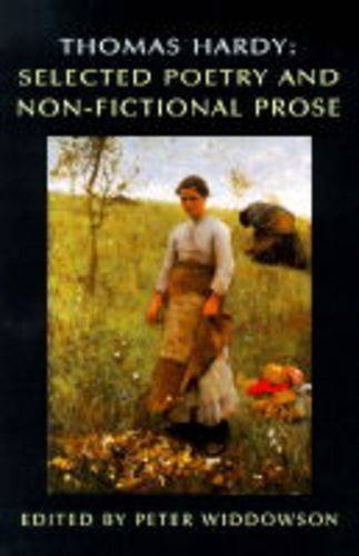 Thomas Hardy: Selected Poetry and Non-Fictional Prose