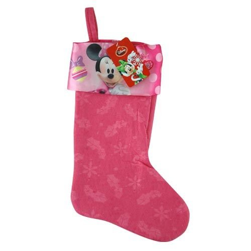 Minnie Mouse 18 inch Christmas Stocking for Girls