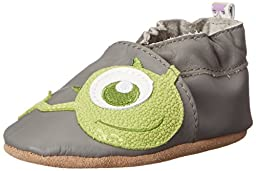 Robeez Disney Monsters, Inc. Crib Shoe (Infant), Grey, 6-12 Months M US Infant