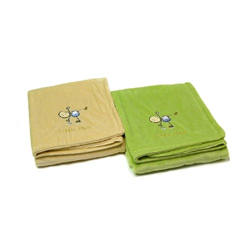 itty bittees Chamois Baby Blanket Ivory