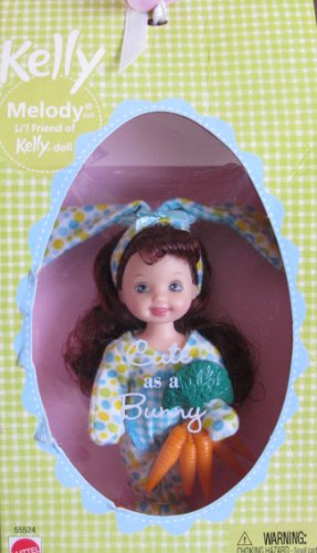 Barbie Kelly MELODY Cute as a BUNNY Doll (2002)