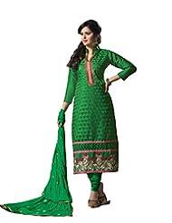 DivyaEmporio Women's Salwar Kameez Suit Dupatta Unstitched Dress Material (Free Size)