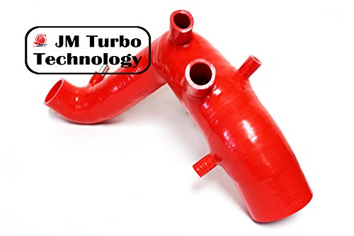 VLRACING Volkswagen Silicone Hose VW Hose Jetta Golf Beetle Audi TT 1.8T MK4 Turbo Inlet Air Intake Hose Kit Red Color New (Turbo Kit For Jetta compare prices)