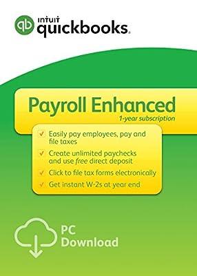 QuickBooks Desktop Enhanced Payroll 2017 [PC Download]