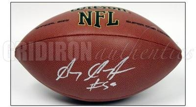 Gary Guyton Autographed Football - Autographed Footballs