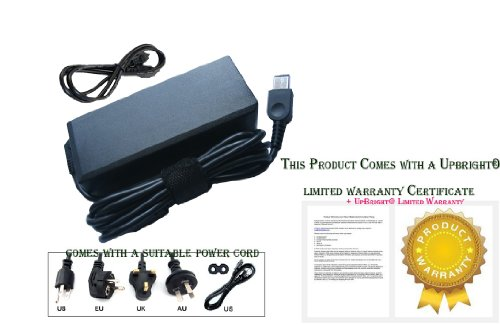 """Upbright® New Ac/Dc Adapter For Lenovo Thinkpad S1 Yoga 20Cd 20C0 Series I7-4500U I5-4200U I7-4600U 12.5"""" Ultrabook Tablet Pc Laptop Notebook Battery Charger Power Supply Cord Cable Ps Charger Mains Psu"""