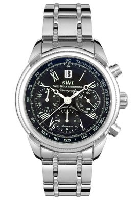 Swiss Watch International Men's Limited Edition Collection Automatic Chronograph Watch A9244.SBS