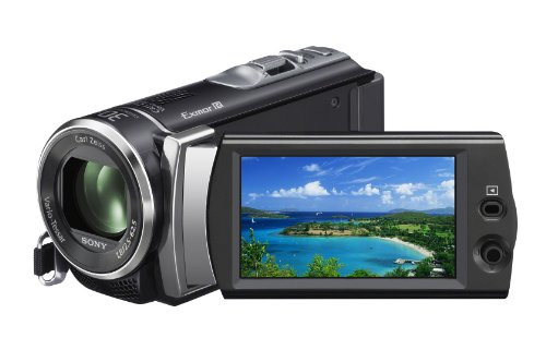 41Ts1pTzFZL Sony HDR CX190 High Definition Handycam 5.3 MP Camcorder(2012 Model)