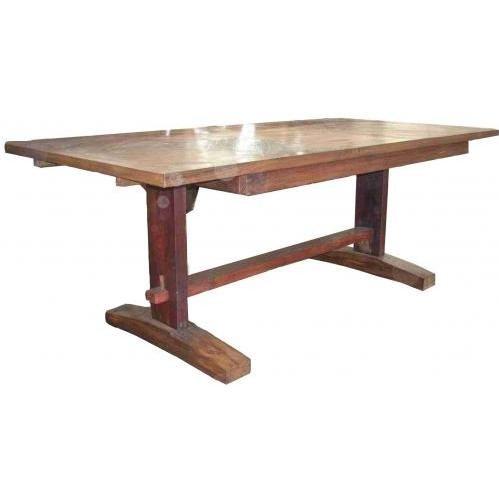 Groovy Stuff Teak Wood Ranch House Drop Leaf Mission / Dinner Table - Tf-688
