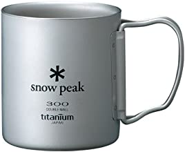 スノーピーク(snow peak) チタンダブルマグ 300 フォールディングハンドル MG-052FHR