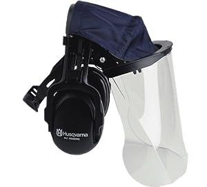 Husqvarna 505665348 Plexiglas Face Visor With Headband Hearing Protectors from Husqvarna
