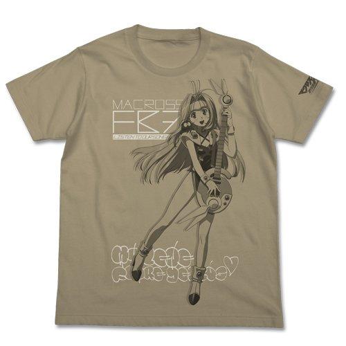 マクロスFB7 FB7ミレーヌTシャツ サンドカーキ サイズ:M
