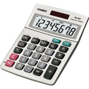 Casio Ms 80s S Ih Desktop Calculator With 8-digit Display