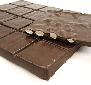SUGAR FREE Dark Chocolate Flavored Coating Almond Bark, 1Lb