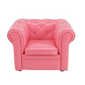 Pas cher jip jip0228 fauteuil mini chesterfield pu rose acheter en - Fauteuil chesterfield rose ...