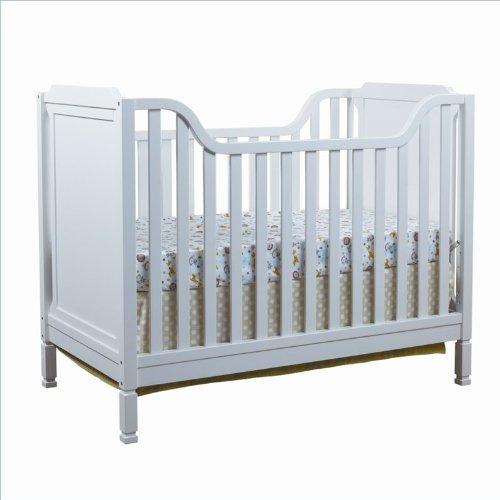 Sorelle Bedford Classic Convertible Crib, White - 1