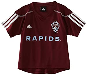 MLS Colorado Rapids Blank Home Call Up Jersey, Toddler by adidas