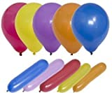 50 Assorted Quality Party Balloons