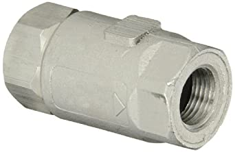Dixon Stainless Steel 316 Ball Cone Check Valve, NPT Female