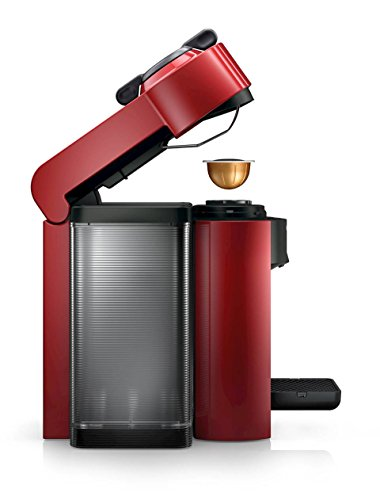 Nespresso GCC1-US-RE-NE VertuoLine Evoluo Coffee and Espresso Maker, Red