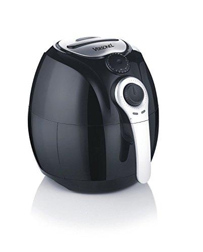 Versonel VSLAF130 Smart Health Oil Free Air Fryer with Rapid Air Technology, Black