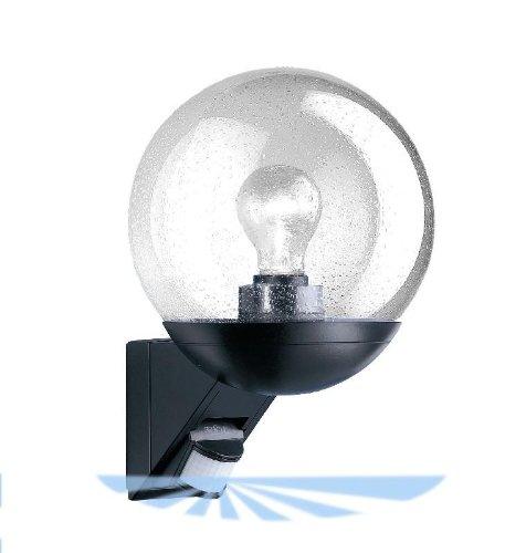 Aussenleuchte mit Bewegungsmelder Wandleuchte Wandlampe schwarz