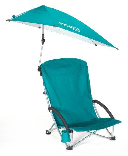 Sport-Brella Beach Chair, Aqua front-1081276