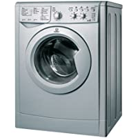Indesit IWDC6125S Freestanding Washer Dryer in Silver 6kg / 5kg capacity