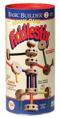 104-Piece Fiddlestix in Canister - Buy 104-Piece Fiddlestix in Canister - Purchase 104-Piece Fiddlestix in Canister (Poof Slinky, Toys & Games,Categories,Play Vehicles,Wood Vehicles)