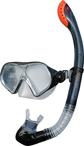 Sola für Erwachsene Maske & verstellbar Ventil Schnorchel Set einheitsgröße