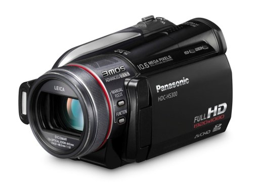 Panasonic HDC-HS300 HDD HD Camcorder (Black)