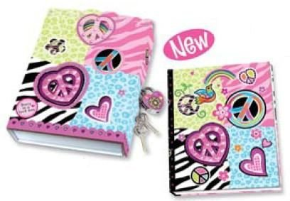 Diary Lock Box - Peace - 1
