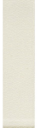 Offray Grosgrain Craft Ribbon, 3-Inch Wide by 50-Yard Spool, Antique White