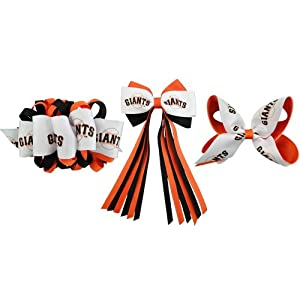 MLB San Francisco Giants French Barrette Collection by USA Licensed Bows